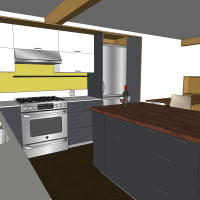 Widescreen Design Kitchen In Sketchup Of Mobile Phones High Quality Sketchup