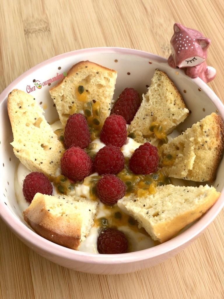 Cake ricotta citron graines de pavot