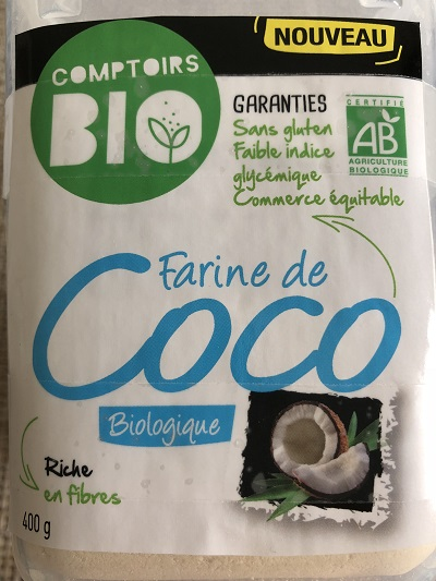 Farine de coco Comptoirs bio