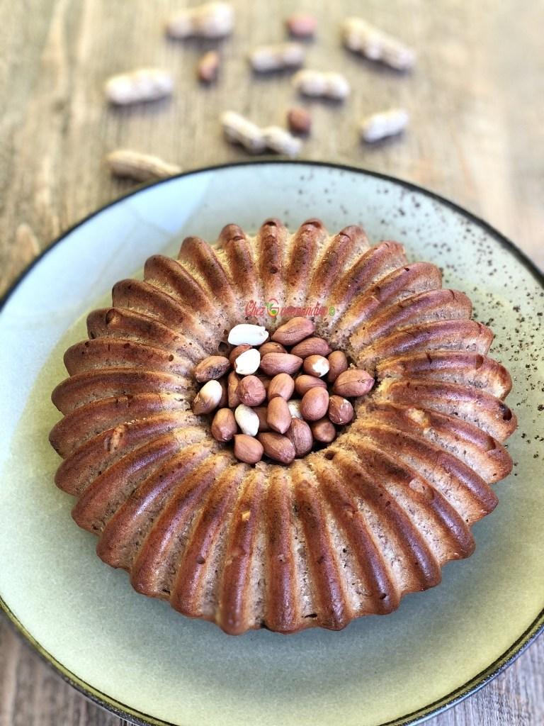 bananabread cacahuète pépites de chocolat