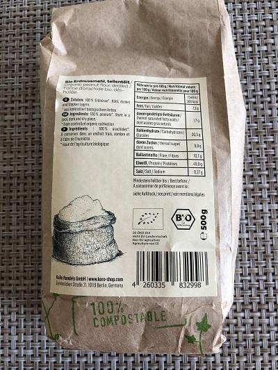 farine d'arachide