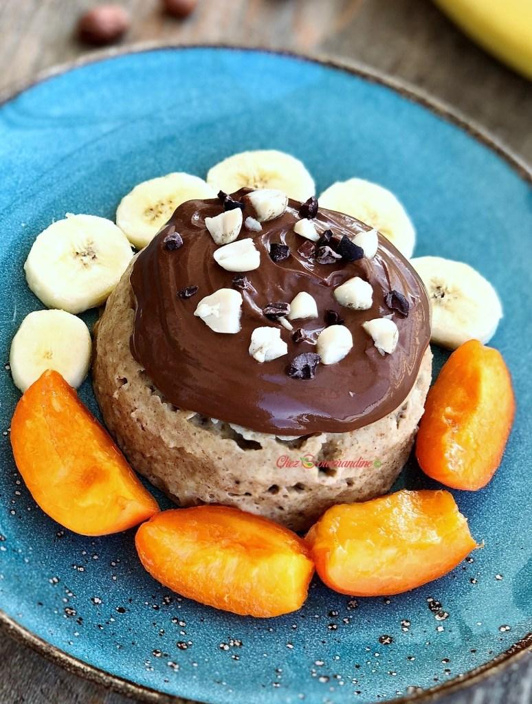 Bowlcake cacahuète avoine