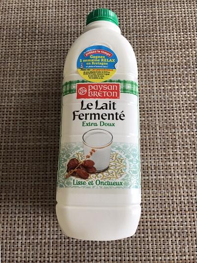 lait fermente