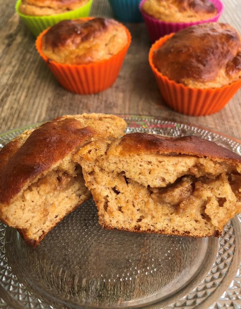 Muffins cacahuète coeur beurre de cacahuète
