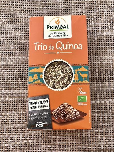 trio de quinoa