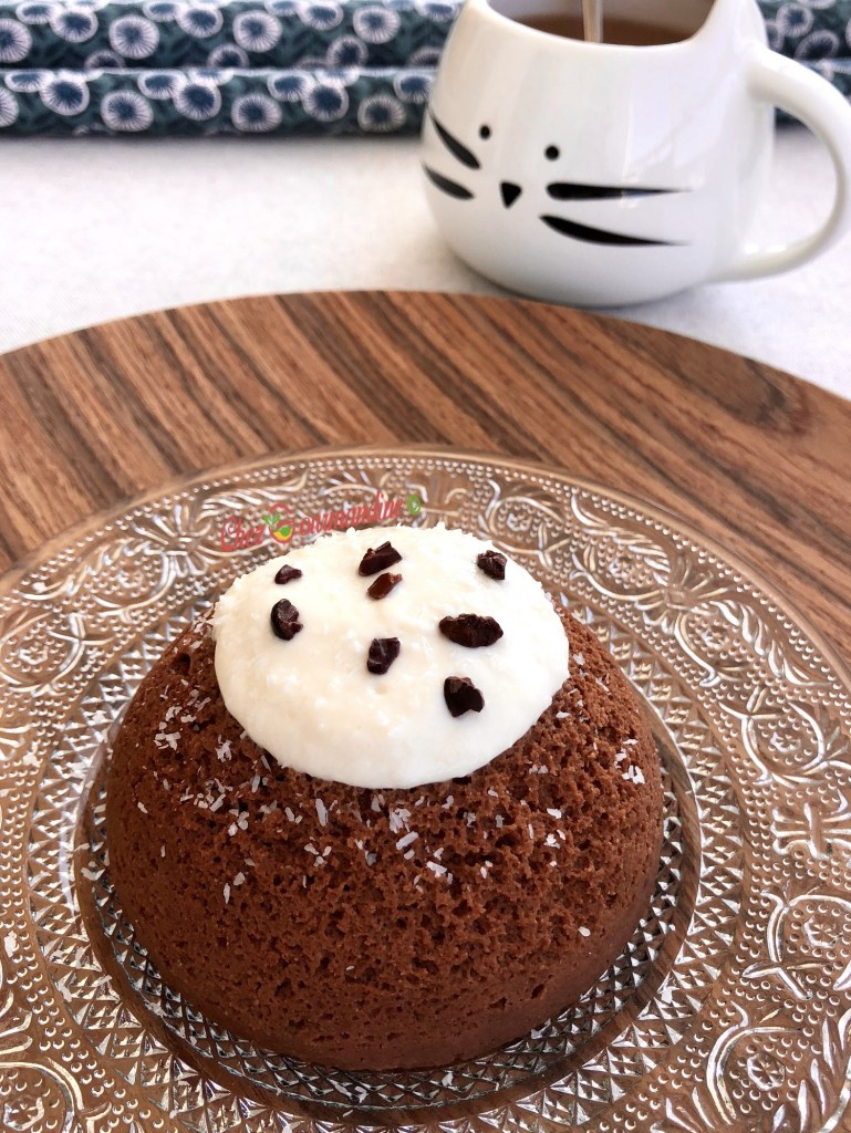 Bowlcake coueur coulant chocolat coco