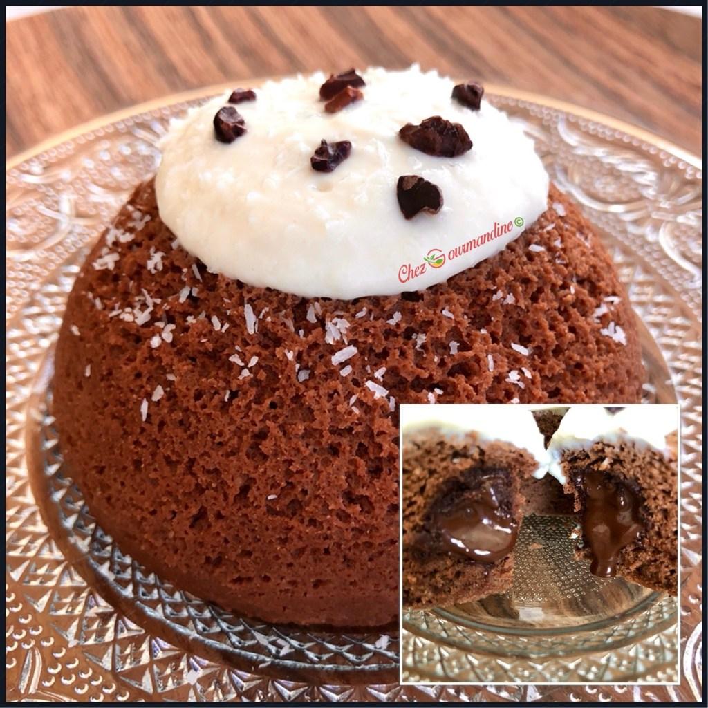 Bowlcake coeur coulant coco choco