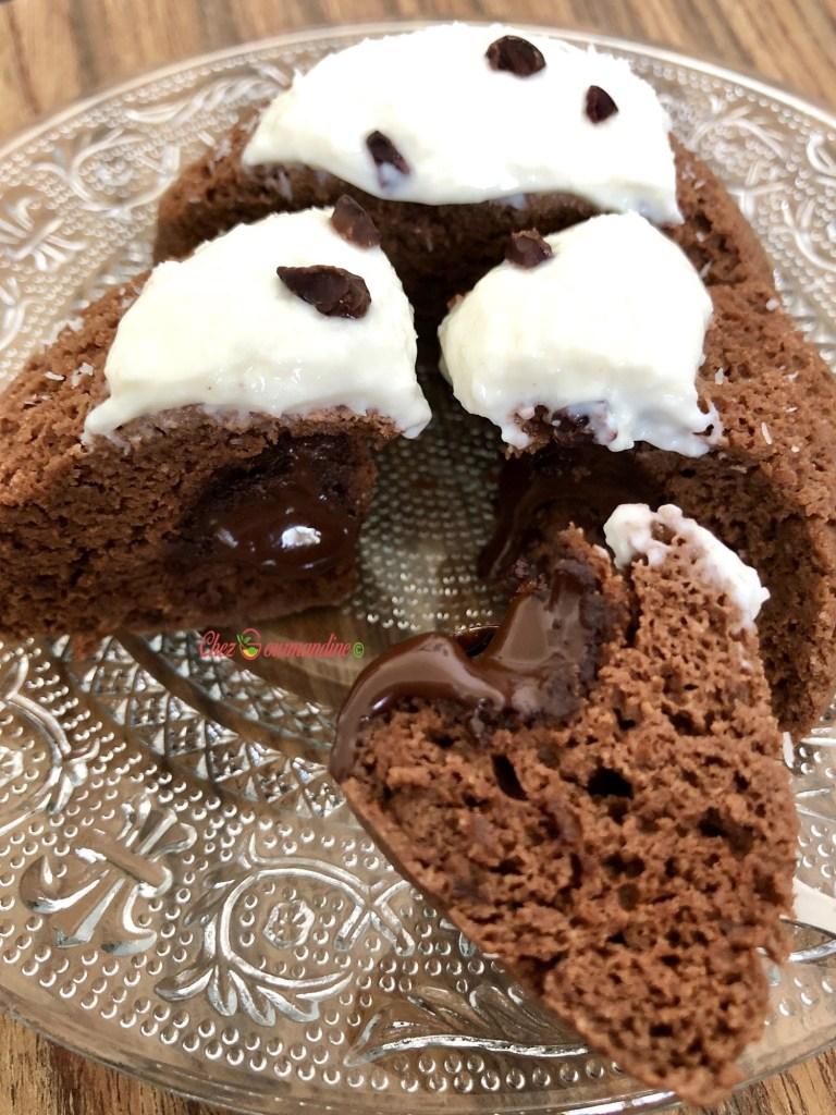 Bowlcake coco choco coeur coulant