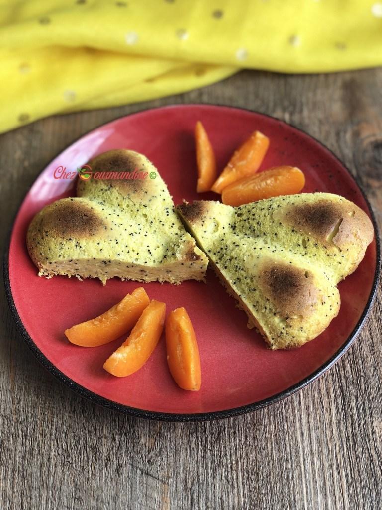 Gâteau du sud citron pavot