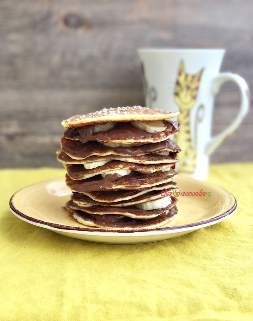 Pancakes légers et rapides à faire
