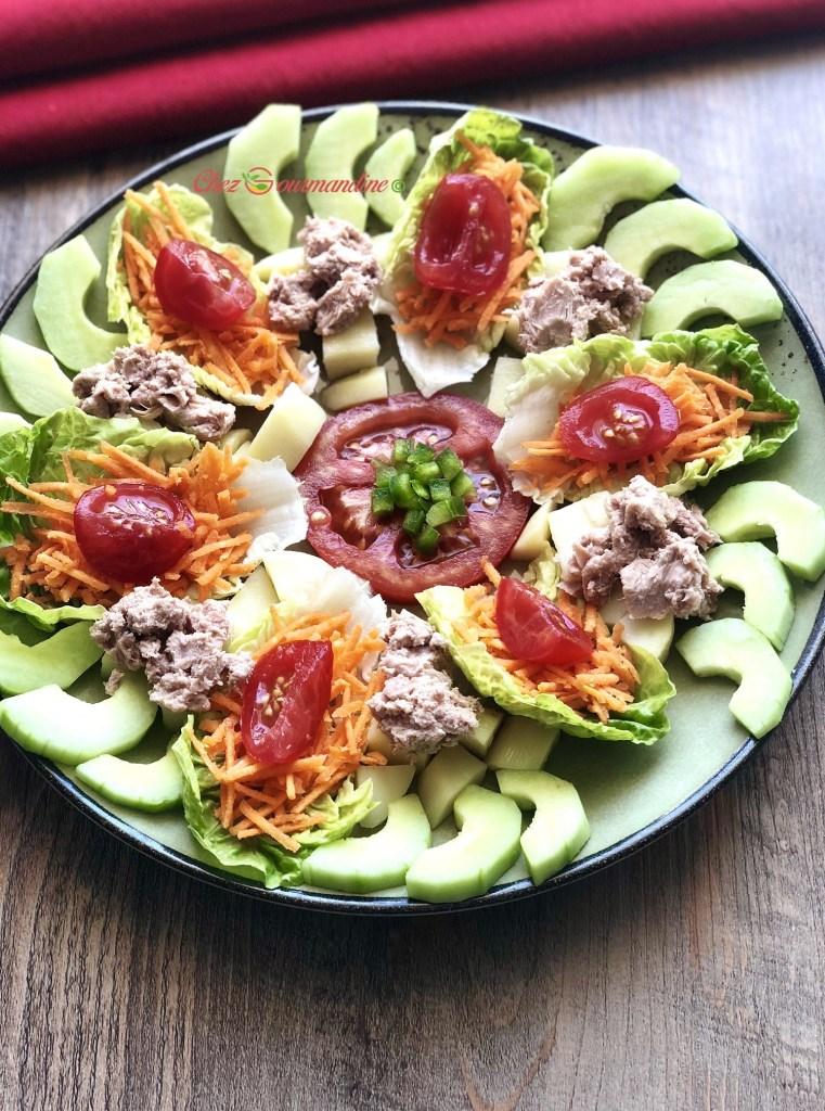 Salade fraîcheur légère