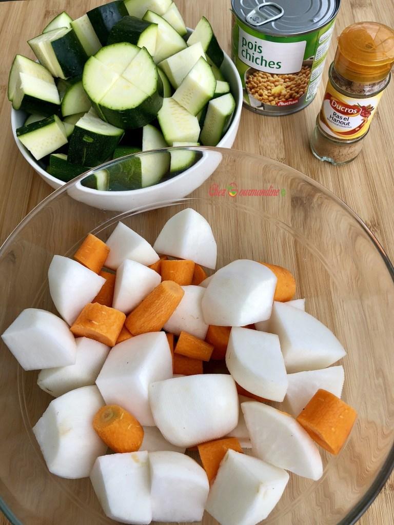 Couscous light au cookeo