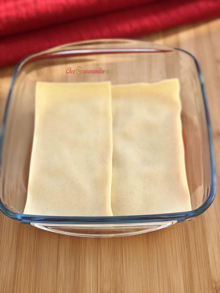 Lasagnes légères courgettes chèvre