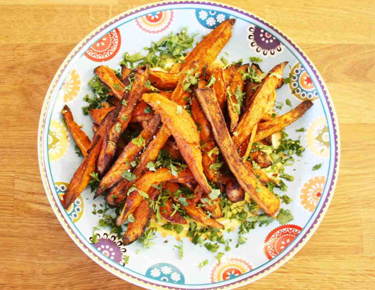 Honey and Cumin Sweet Potato Fries