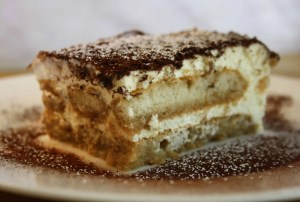 .This Tiramisu is extremely easy, egg free, mascarpone free, fuss free dessert with cream, creme fraiche, coffee, sponge fingers and chocolate.