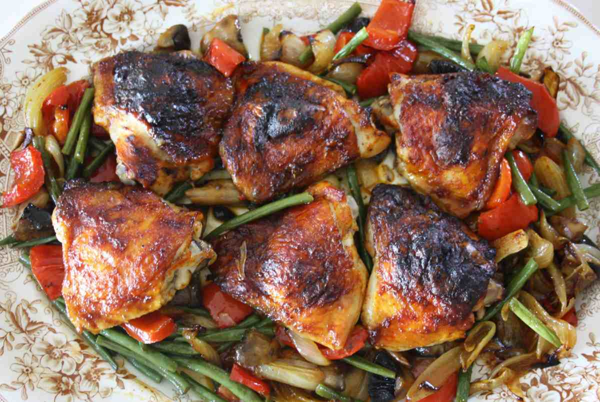 Baked Harissa Chicken