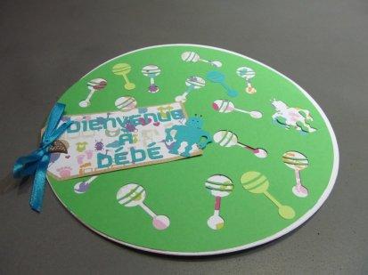 carte de naissance ronde robot 8