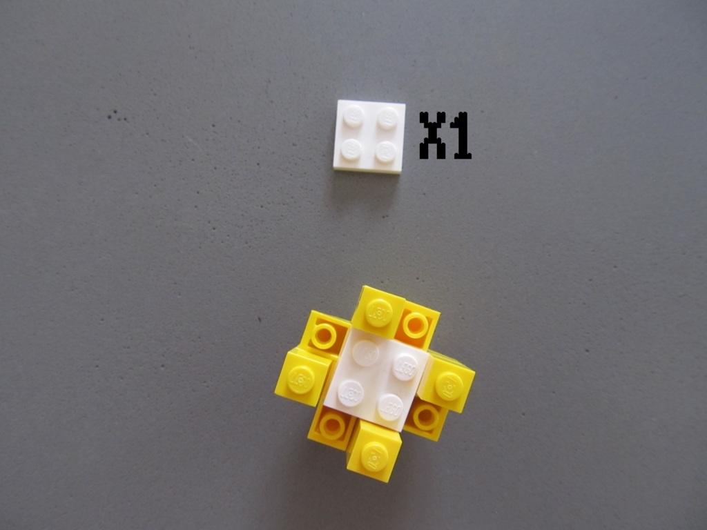 tuto fleur lego 5