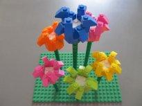 Fleur lego pour décoration mariage
