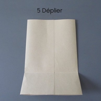 sac en papier étape 5