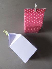 boîte en papier