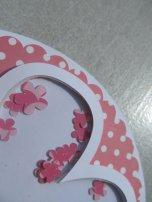 carte fleur shaker box