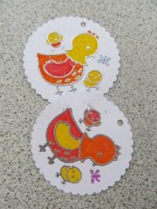 Paques tampon embossé (3)