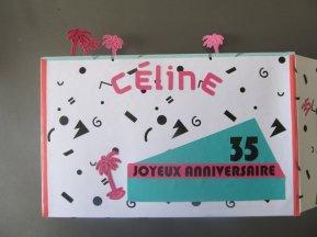 urne anniversaire thème Ibiza (2)