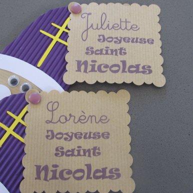 Saint Nicolas cadeau prénom