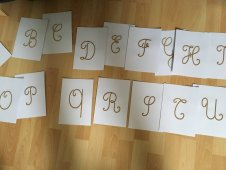 lettres rugueuses majuscules cursives (8)