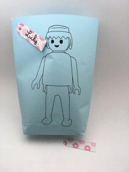 anniversaire playmobil sachet bonbons