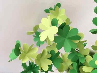 plante verte en papier (5)