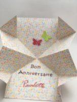 carte papillon intérieur
