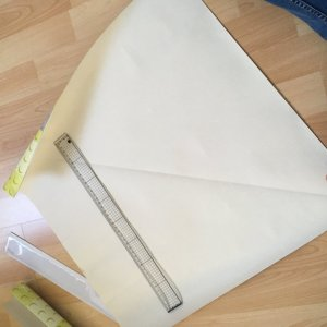 boite en papier peint upcycling
