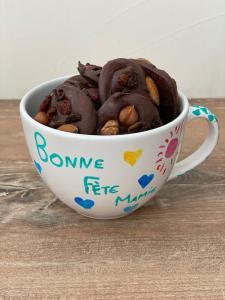 mendiant chocolat fête des grands-mères
