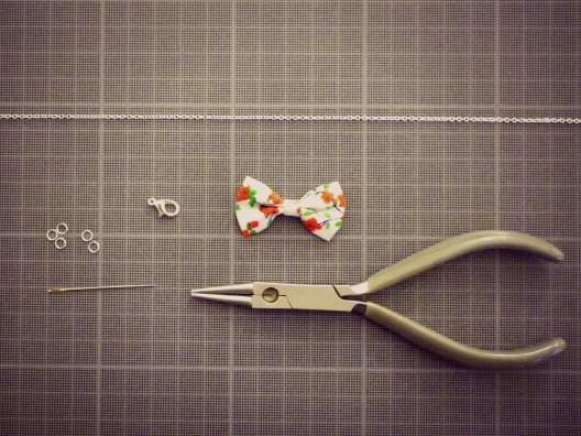 Chez Lisette DIY bracelet noeud