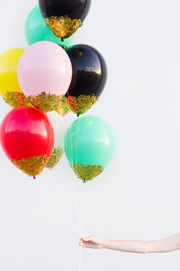 A voir ailleurs de jolis diy chez lisette for Confetti dipped balloons