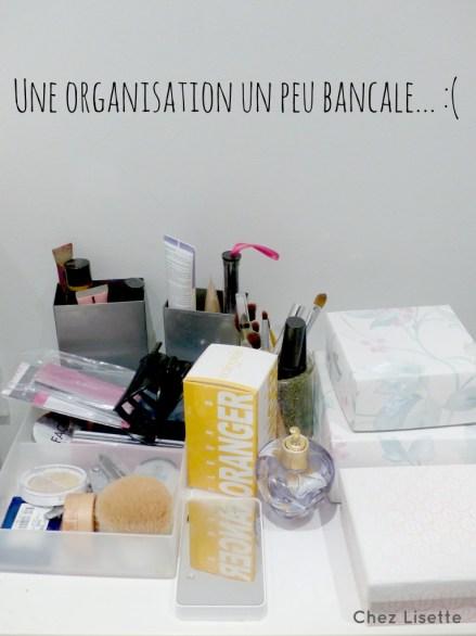 Rangement maquillage - Chez Lisette