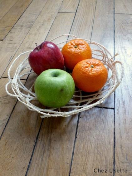 Corbeille fruits - Chez Lisette
