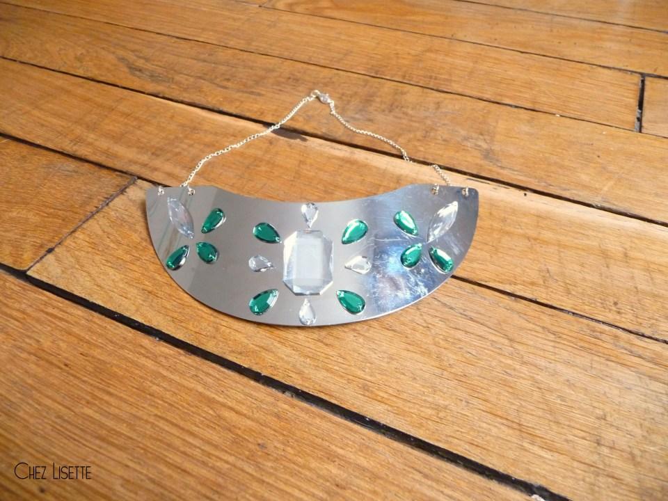 Chez Lisette DIY collier plastron