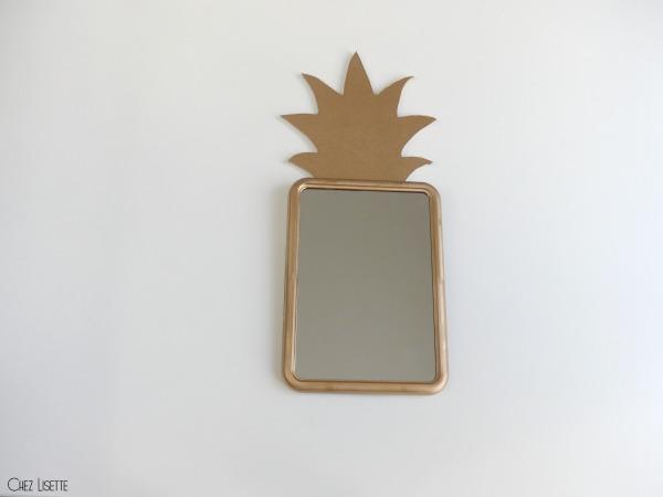 chez lisette diy miroir ananas final