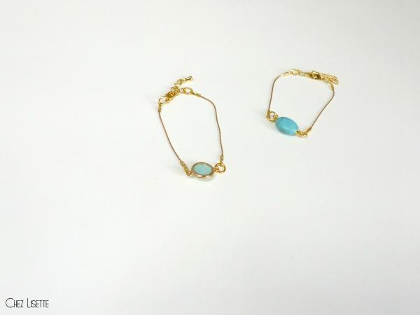 chez lisette diy bijoux d'été bracelets