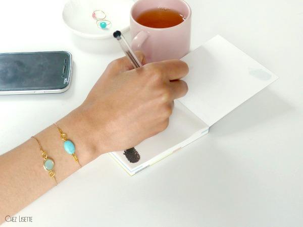 chez lisette diy bijoux d'été bracelets portés2