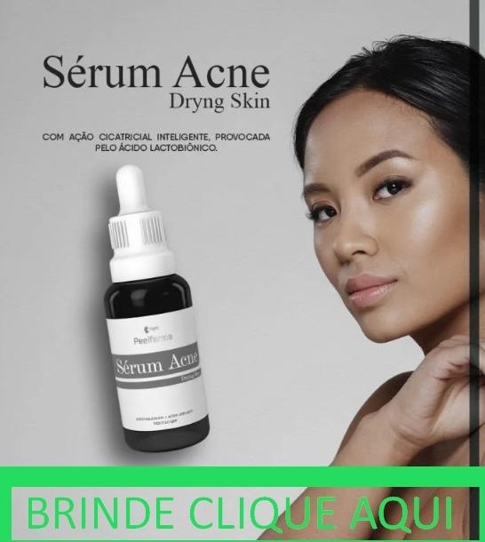 Brinde Serum acne curso dryng skin