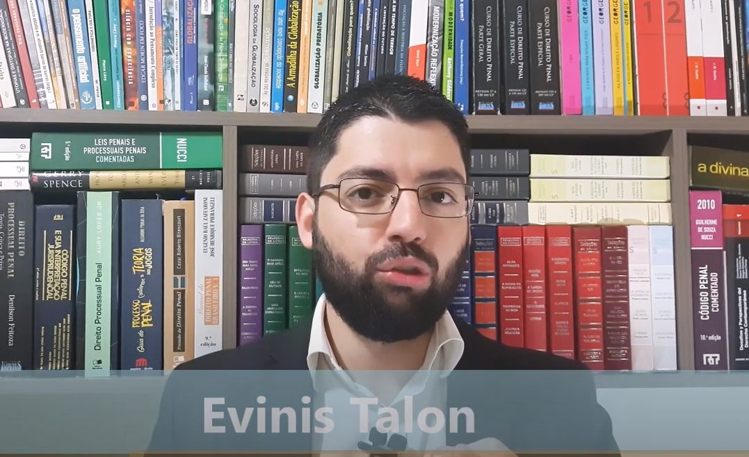 Curso assinatura professor Evinis Talon penal processo execução