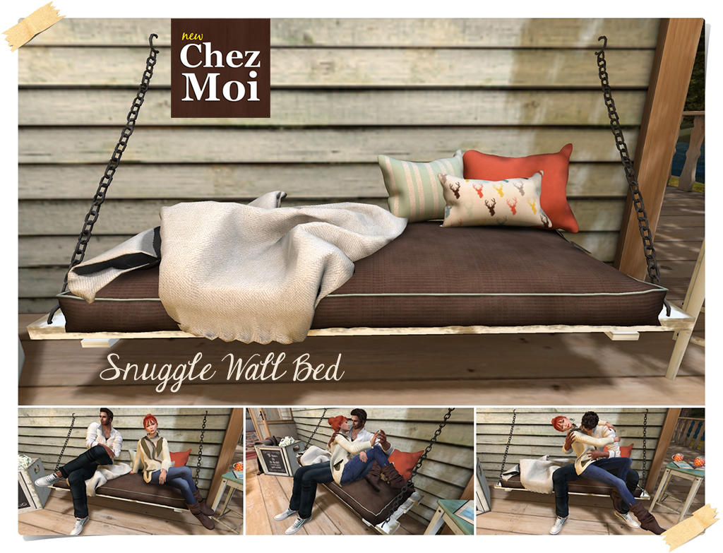 Snuggle Wall Bed CHEZ MOI