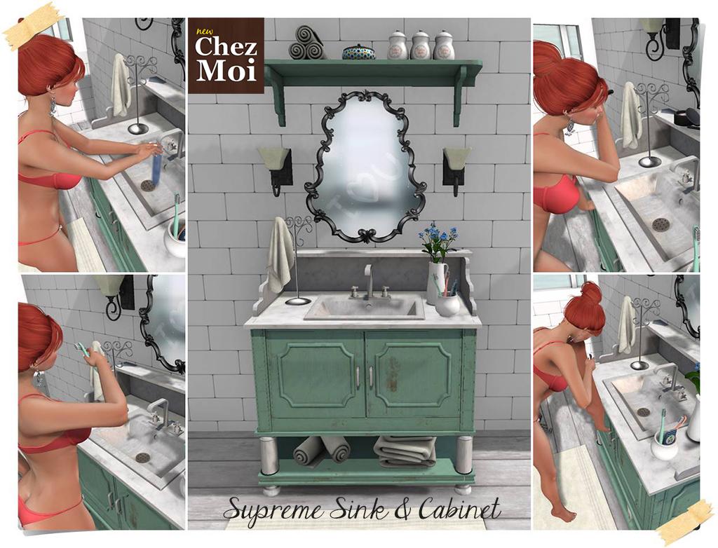 Bathroom Sink Main CHEZ MOI