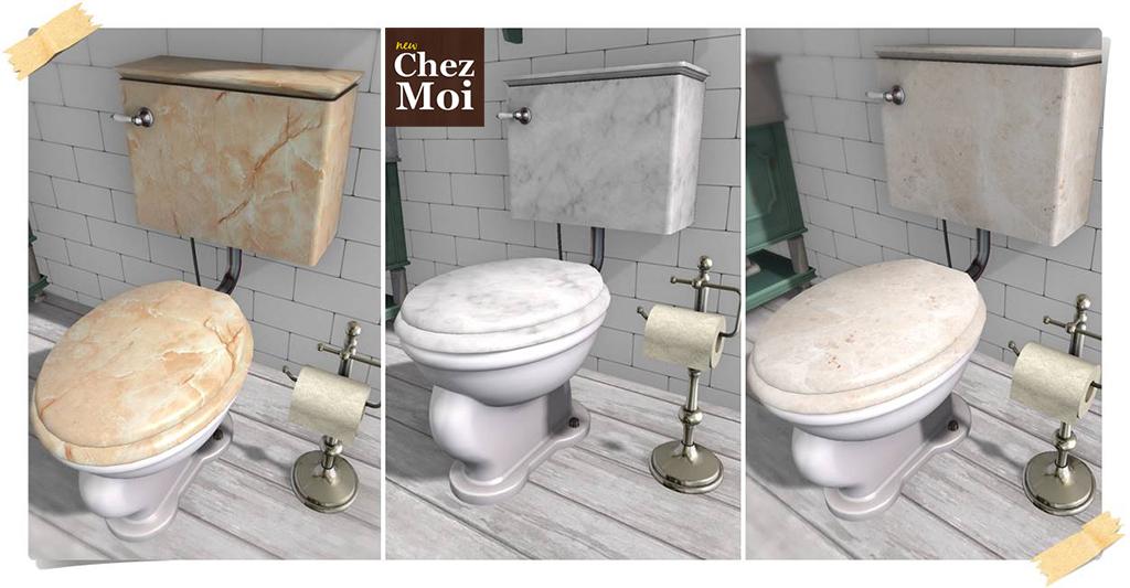 Supreme Toilet Colors CHEZ MOI