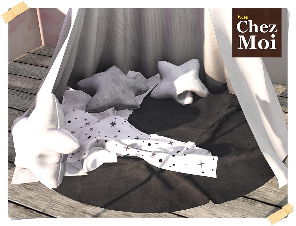 Mystical Tent Details CHEZ MOI