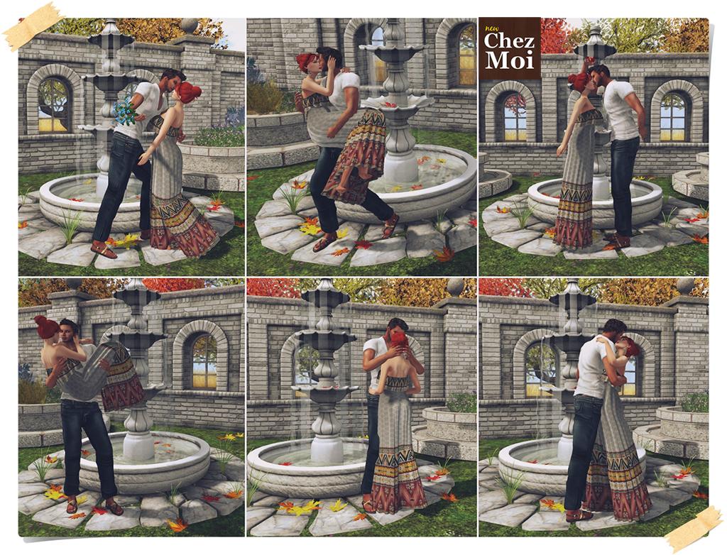 Fontain Magnolia Couple Poses CHEZ MOI